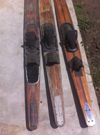 WATER SKI SET TAPERFLEX AND TTS - $150 (VENTURA)