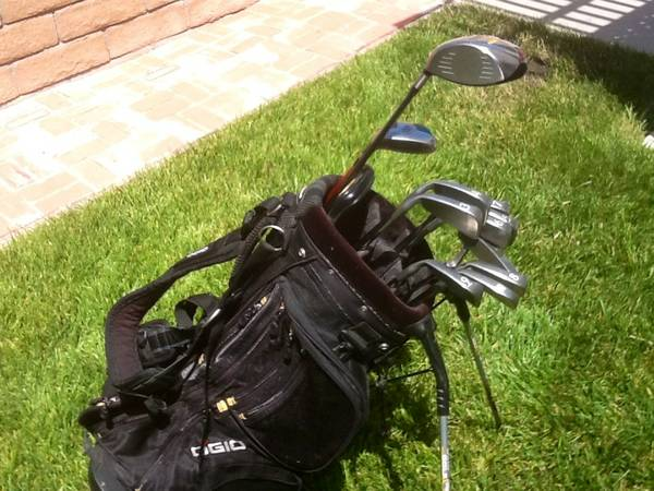 GOLF PING ISI IRONS, TAYLORMADE DRIVER, NEW OGIO BAG, 5 HYBRID, PUTTER - $395 (NEWBURY PARK)