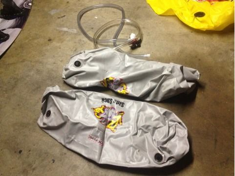 Wakeboard boat fat sacks - $120 (Port Hueneme)