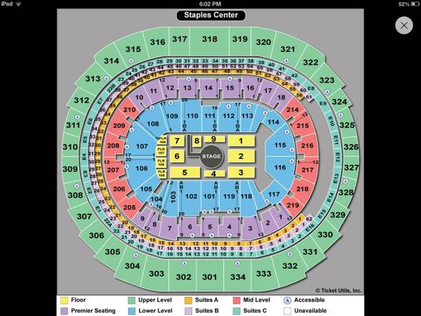 Vicente Fernandez tickets - $1 (Staple center )