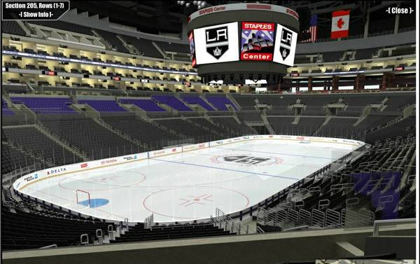 Los Angeles Kings tickets. Great seats to every home game - $1 (Staples Center)