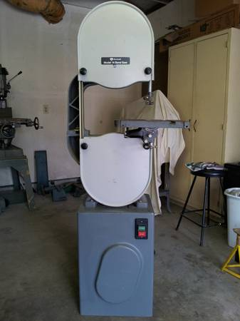 Vintage Rockwell Model 14 Bandsaw - $700 (Simi Valley)
