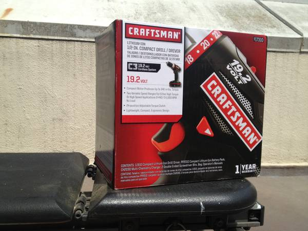 New, unopened Craftsman Compact Drill - $100 (Thousand Oaks )