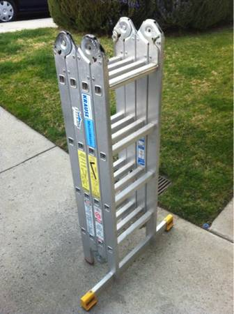 KRAUSE MULTIMATIC 16 FOLDING LADDER - $125 (Thousand Oaks)