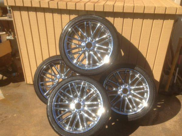 18 BBS RIMS TIRES FOR BMW - $500 (OXNARD, CA)