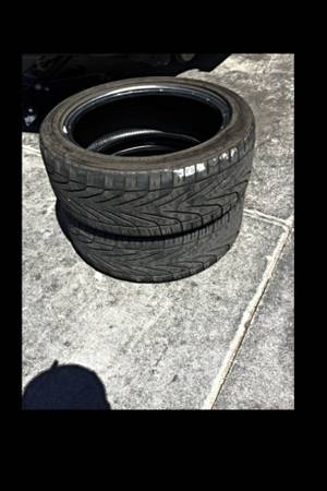 2 USED 205 50 17 Goodyear Runflat Tires - $25 (Oxnard)