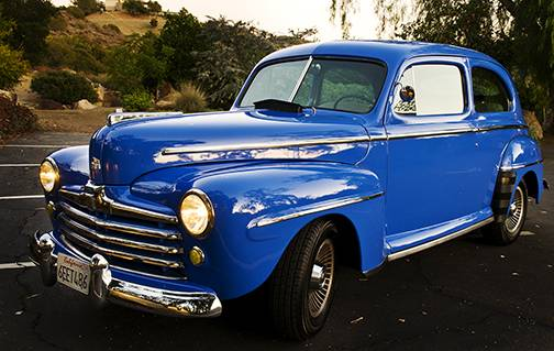 1947 FORD DELUXE, CLASSIC 2-DOOR SEDAN - $16900 (Ojai, CA)
