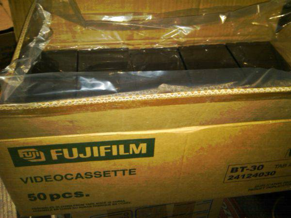 FujiFilm New Blank VHS Tapes For Sale - $50 (Simi Valley)