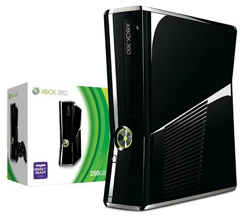 Xbox 360 Slim 250 GB with games accessories - $300 (Thousand Oaks)