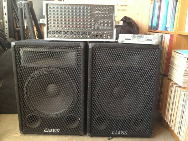 CARVIN 12 CHANNEL COMPLETE PA SOUND SYSTEM - $1200 (Moorpark)