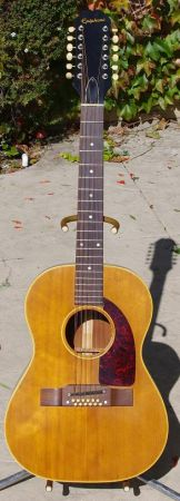 Epiphone 12 string acoustic guitar - $1095 (T.O.)
