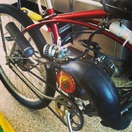 66cc motorized race bike (Simi Valley)