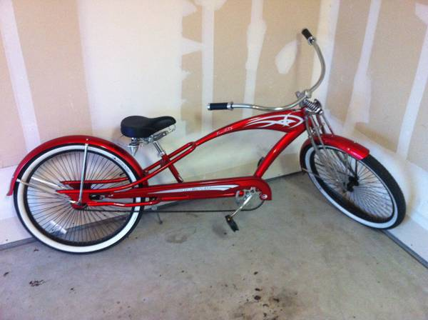 Micargi Puma GTS Chopper Beach Cruiser Bicycle 26 - $425 (Visalia, CA)