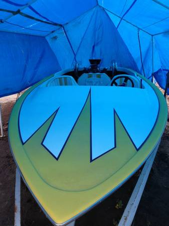 1976 Tahiti speed boat with blown 460 ford - $2000 (Cali)