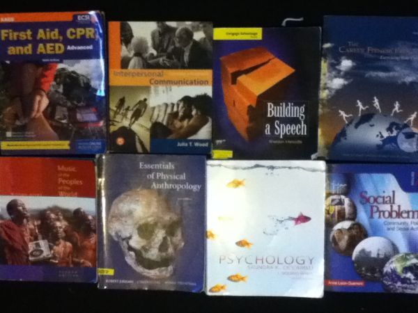 COS TEXTBOOKS - $5 (Visalia)