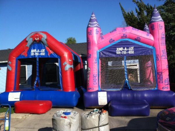 Start your own business Bounce houses and Obstacles - $6500 (Woodlake)