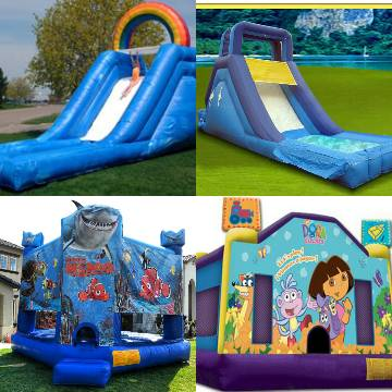 large successful established bounce house rental company - $30000 (porterville)
