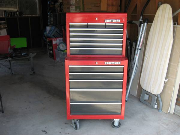 Craftsman tool box tools - $550 (Visalia)
