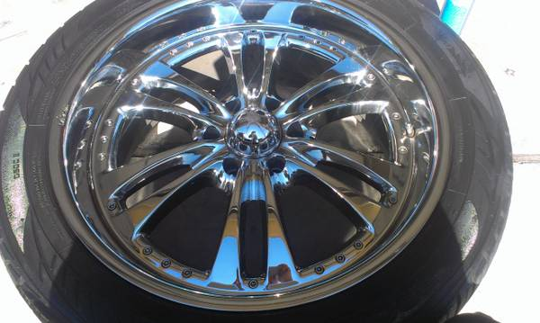 $$$$$ 22 rims with almost new toyo tires $$$$$$$ - $750 (dinuba)
