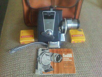 Vintage 8mm Movie Camera (works in excellent shape) - $100 (VISALIA)