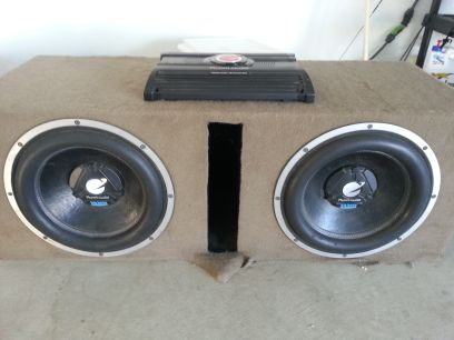 Two 15 Planet Audio System - $1000 (Porterville)