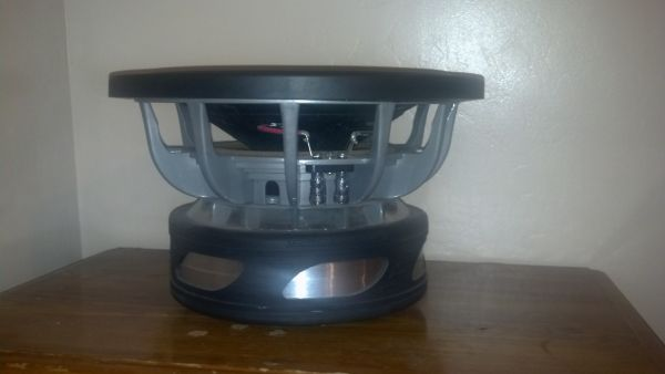 subwoofer crossfire xt2 12 competition sub - $350 (porterville ca)