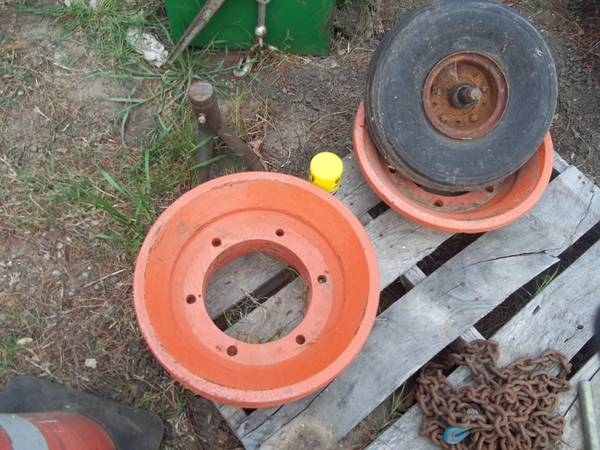 wheels, tires, adapters, weights (Atascadero)