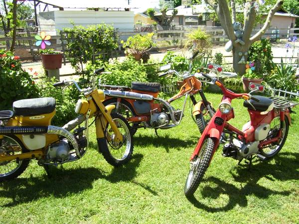 EXETER,, CALIF. HONDA 90, SAT, 13TH,, TRAIL BIKE YARD SALE - $1 (EXETER, CALIF. 93221)