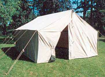 WANTED-Large Canvas Wall Tent (Tulare County)