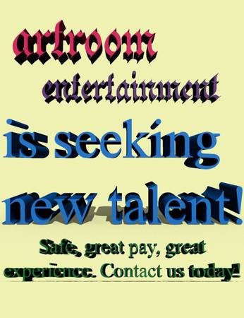 Seeking adult actresses for great paying entertainment jobs (Fresno, CA)