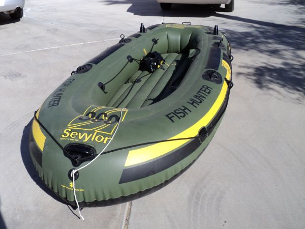 Sevylor HF 360 Fish Hunter - $125 (Foothills)