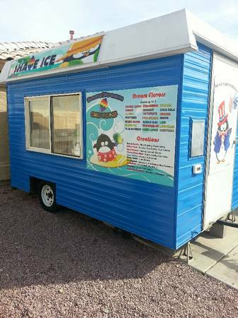 shave ice concession trailer - $15000 (peoria ) - $15000 (peoria,az)
