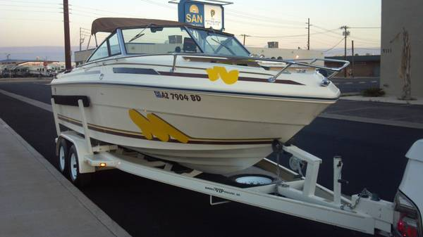 WOULD LIKE TO TRADE MY BOAT FOR YOUR RV OR CASH WHAT DO YoU HAVE - $4500 (PEORIA)