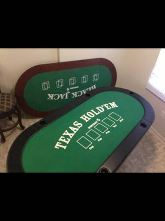 Poker table reduced - $200 (Yuma)