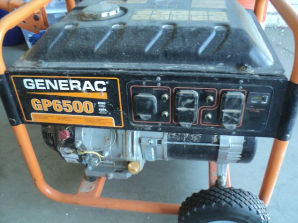 Barely used Generac GP 6500 accessories - $600 (Yuma, Foothills)