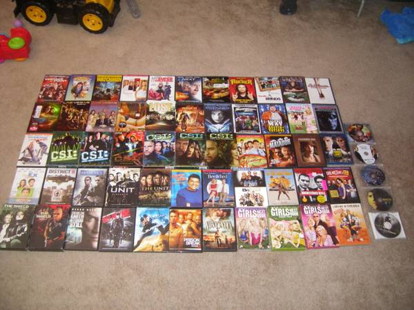 various movies DVD - $2 (Ocotillo Subdivision)