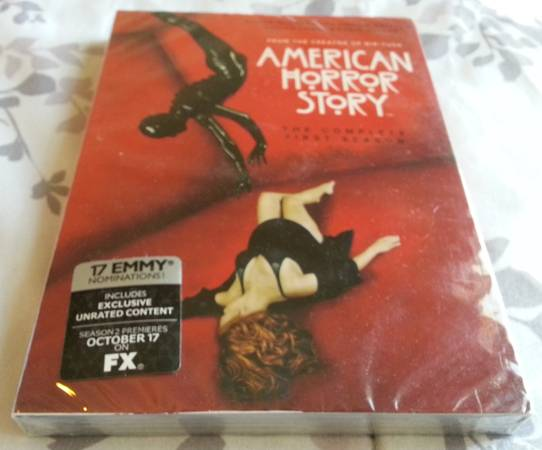 AMERICAN HORROR STORY SEASON 1 - BRAND NEW IN ORIGINAL PACKAGING - $20 (IRONWOOD OCOTILLO - SAN TAN VALLEY)