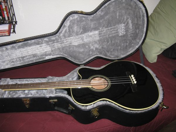 Takamine acoustic-electric bass guitar - $425 (Yuma)